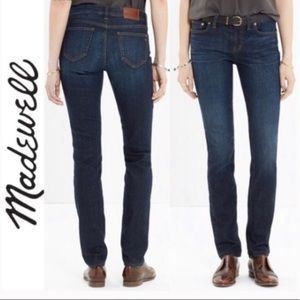 Madewell Alley High Rise Straight Leg Jeans